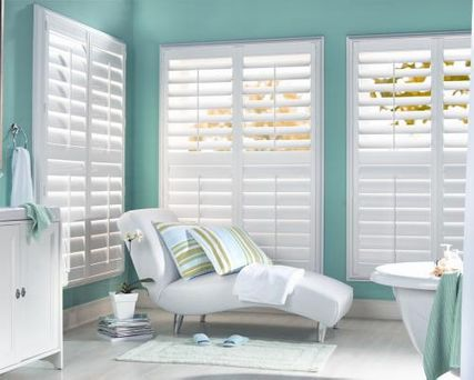 Shade-O-Matic Polysatin Seaview Shutters